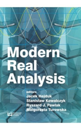 Modern Real Analysis - Ebook - 978-83-7969-955-1