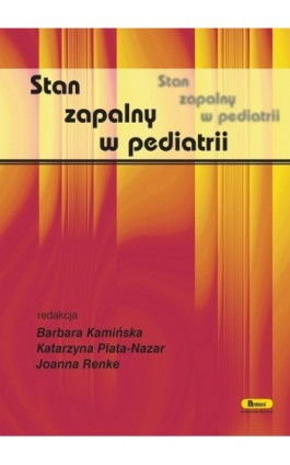 Stan zapalny w pediatrii - Ebook - 978-83-85284-83-3