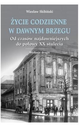Życie codzienne w dawnym Brzegu. Od czasów najdawniejszych do połowy XX stulecia - Wiesław Skibiński - Ebook - 978-83-64691-29-4