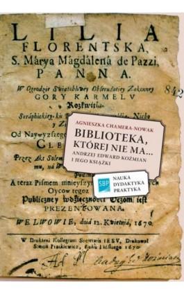 Biblioteka której nie ma - Agnieszka Chamera-Nowak - Ebook - 978-83-64203-51-0