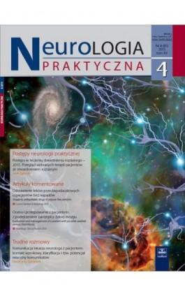 Neurologia Praktyczna 4/2015 - Ebook