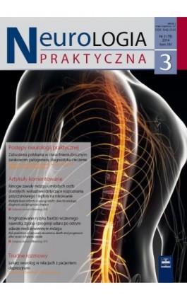 Neurologia Praktyczna 3/2014 - Ebook