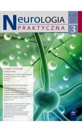Neurologia Praktyczna 3/2016 - Ebook