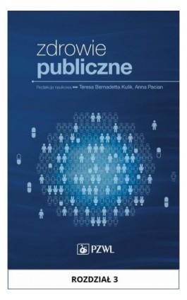 Zdrowie publiczne. Rozdział 3 - Ebook - 978-83-200-5246-6