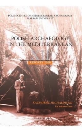 Polish Archaeology in the Mediterranean 12 - Ebook