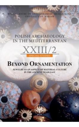 Polish Archaeology in the Mediterranean 23/2 - Ebook