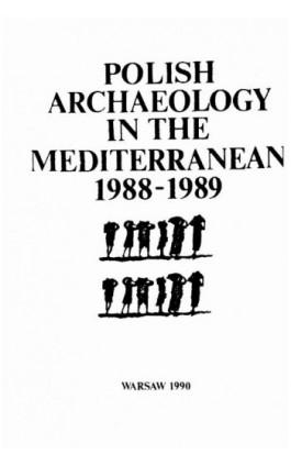 Polish Archaeology in the Mediterranean 1 - Ebook