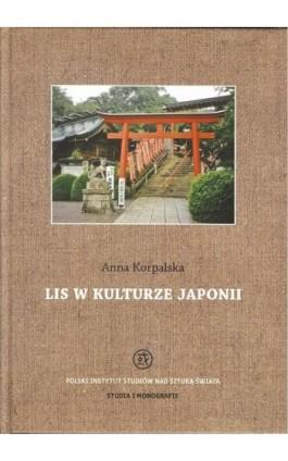 Lis w kulturze Japonii - Anna Korpalska - Ebook - 978-83-62737-82-6