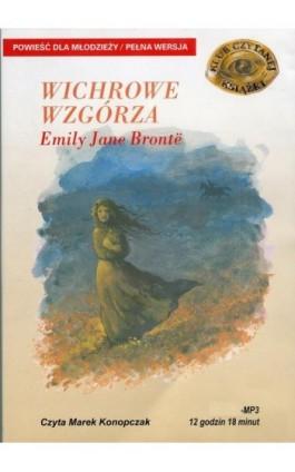 Wichrowe wzgórza - Emily Brontë - Audiobook - 978-83-89336-76-7