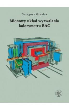 Mionowy układ wyzwalania kalorymetru BAC - Grzegorz Grzelak - Ebook - 978-83-235-2743-5