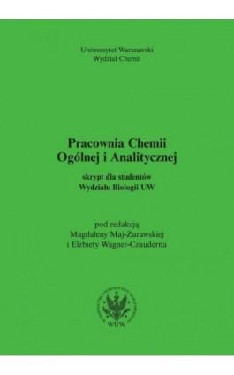 Pracownia chemii ogólnej i analitycznej (2017, wyd. 6) - Ebook - 978-83-235-2910-1