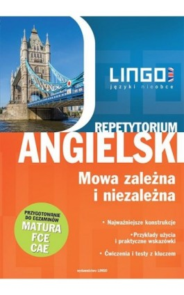 Angielski. Mowa zależna i niezależna - Anna Treger - Ebook - 978-83-7892-336-7