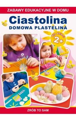 Ciastolina. Domowa plastelina - Joanna Paruszewska - Ebook - 978-83-7774-546-5