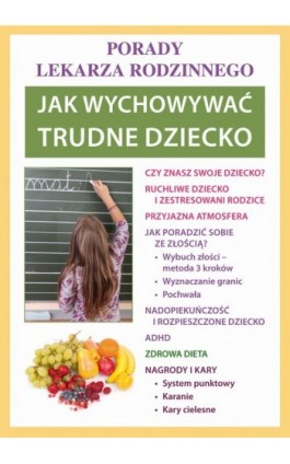 Jak wychowywać trudne dziecko - Agnieszka Umińska - Ebook - 978-83-7898-357-6