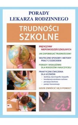 Trudności szkolne - Agnieszka Umińska - Ebook - 978-83-7898-379-8