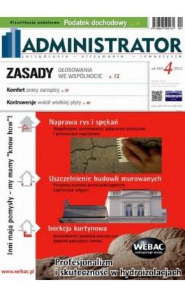 Administrator 4/2013 - Ebook