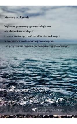 Wybrane przemiany geomorfologiczne mis zbiorników wodnych i ocena zanieczyszczeń osadów zbiornikowych w warunkach zróżnicowanej  - Martyna A. Rzętała - Ebook - 978-83-8012-175-1