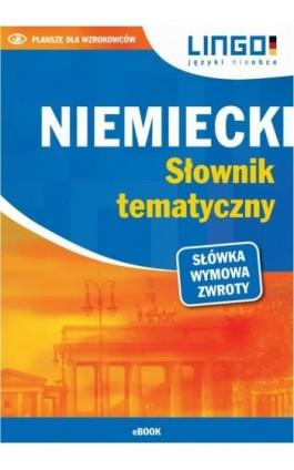 Niemiecki. Słownik tematyczny - Tomasz Sielecki - Ebook - 978-83-7892-469-2