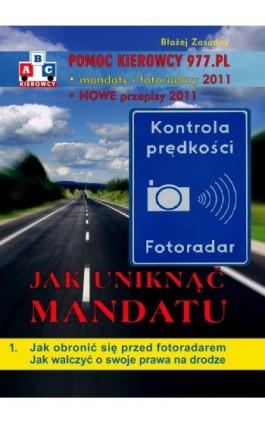 ABC Kierowcy. Pomoc kierowcy 977.pl - Błażej Zasadny - Ebook - 978-83-62480-71-5