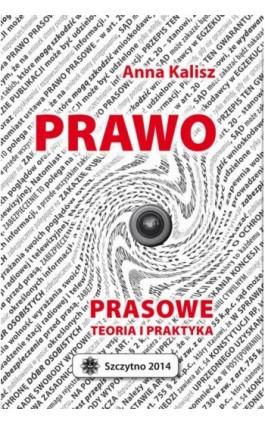 Prawo prasowe. Teoria i praktyka - Anna Kalisz - Ebook - 978-83-7462-456-5