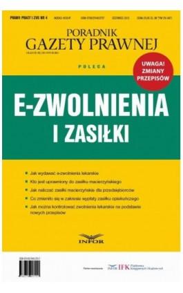 E-zwolnienia i zasiłki - Infor Pl - Ebook - 978-83-7440-581-2
