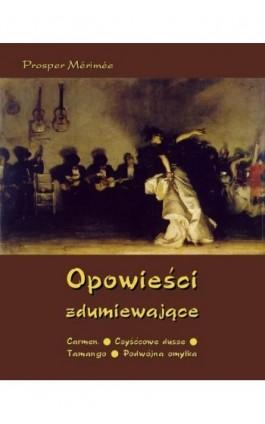Opowieści zdumiewające - Prosper Merimee - Ebook - 978-83-7950-133-5