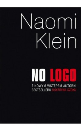 No logo - Naomi Klein - Ebook - 978-83-287-0218-9