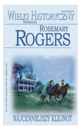 Najcenniejszy klejnot - Rosemary Rogers - Ebook - 978-83-238-7621-2