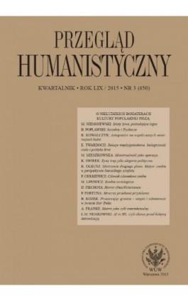 Przegląd Humanistyczny 2015/3 (450) - Ebook