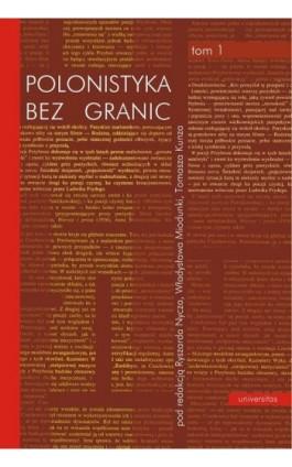 Polonistyka bez granic tom 1-2 - Ebook - 978-83-242-1431-0