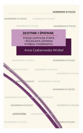 Złotnik i śpiewak - Anna Czabanowska-Wróbel - Ebook - 978-83-242-1409-9