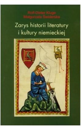 Zarys historii literatury i kultury niemieckiej - Rolf-Dieter Kluge - Ebook - 978-83-7405-570-3
