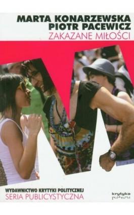 Zakazane miłości Seksualność i inne tabu - Piotr Pacewicz - Ebook - 978-83-62467-66-2
