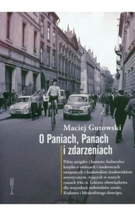 O paniach panach i zdarzeniach - Maciej Gutowski - Ebook - 978-83-939586-6-5