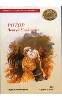 Potop - Henryk Sienkiewicz - Audiobook - 978-83-7699-873-2
