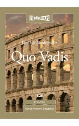 Quo Vadis - Henryk Sienkiewicz - Audiobook - 978-83-62121-94-6