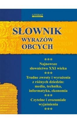 Słownik wyrazów obcych - Monika von Basse - Ebook - 978-83-7774-532-8