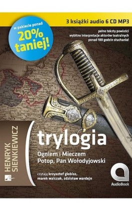 Trylogia - Henryk Sienkiewicz - Audiobook - 978-83-60313-24-4