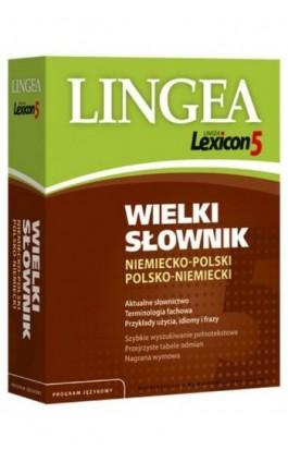 Wielki słownik niemiecko-polski polsko-niemiecki (do pobrania) - Lingea - Ebook