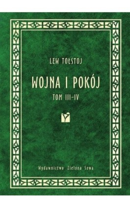 Wojna i pokój tom 3-4 - Lew Tołstoj - Ebook - 978-83-7895-284-8