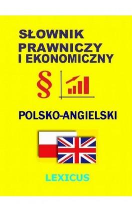 Słownik prawniczy i ekonomiczny polsko-angielski - Jacek Gordon - Ebook - 978-83-944567-4-0
