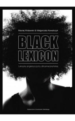 Black Lexicon - Maciej Widawski - Ebook - 978-83-7326-869-2