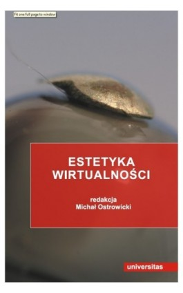 Estetyka wirtualności - Ebook - 978-83-242-1413-6