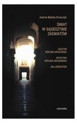 Świat w sąsiedztwie zaświatów - Joanna Bielska-Krawczyk - Ebook - 978-83-242-1496-9