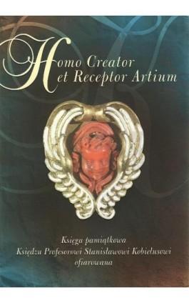 Homo Creator et Receptor Artium - Ebook - 978-83-7072-654-6