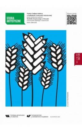 Studia Artystyczne Nr 3: Sztuka i kultura ludowa w badaniach i twórczości artystycznej - Ebook