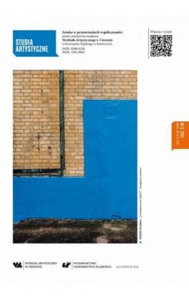 Studia Artystyczne. Nr 2: Sztuka w przestrzeniach współczesności - Ebook