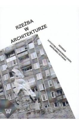 Rzeźba w architekturze - Katarzyna Chrudzimska-Uhera - Ebook - 978-83-7072-515-0
