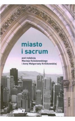 Miasto i sacrum - Ebook - 978-83-7688-252-9