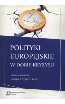 Polityki europejskie w dobie kryzysu - Tomasz Grzegorz Grosse - Ebook - 978-83-7383-825-3